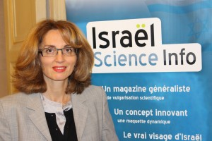 ESTHER AMAR KAGAN FONDATRICE ISRAEL SCIENCE INFO
