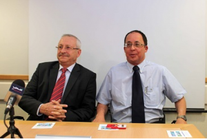 Hani Abdeen et Yuval Weiss