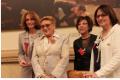 de g. à d. : Esther Amar Kagan, Danièle Hoffman-Rispal, Marlène Roulet, Joëlle Lezmi