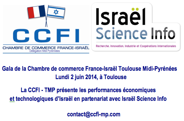 Gala du 2 juin 2014 la ccfi tmp pr sente les for Chambre de commerce france israel