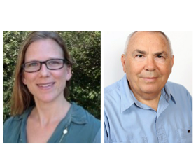 Dr Lauren M. Petrick (TCEEH) and Prof. Michael Aviram (Technion)