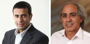 Cofounders Nimrod Madar CEO and Pr Uri Polat