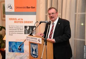Le rabbin et professeur Daniel Hershkowitz, Président de l'université Bar-Ilan
