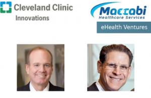 Left, Dr. Thomas Graham, CCI, right, Steve Shapiro, eHealth Ventures