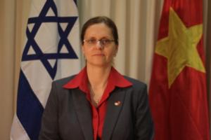 Madame L'ambassadeur israélien au Vietnam Meirav Eilon Shahar