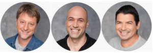 YARIV HADDAD, Co-Founder & CEO (Technion), YOAV YADIN Co-Founder & CTO (Technion), ALEX ALON Co-Founder & Chief Scientist (Tel Aviv University)