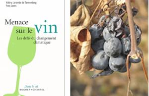"""""""Menace sur le vin, Les défis du changement climatique"""", ouvrage de Valéry Laramée de Tannenberg et Yves Leers"""