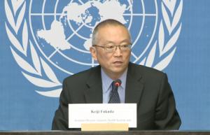 Dr Keiji Fukuda, Représentant spécial du Directeur général de l'OMS pour la résistance aux antimicrobiens