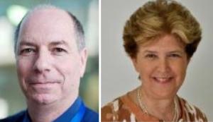 Le Dr. David Gurwicz et le Prof. Ilana Gozes