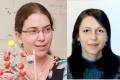 A g. : assistant professeur Maytal Caspary Toroker, à d. Vicky Fidelsky