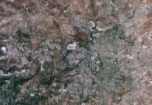 Jérusalem : crédit photo CNES