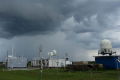 Air pollution and weather observatory station in the Amazon. Photo by D. Rosenfeld/Hebrew U.