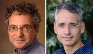 Dr Paul Falkowski (left.) et Pr Ron Milo