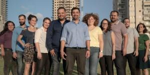 Quelques membres du mouvement Ashdodim