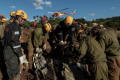 Israel Defense Forces soldiers and reservists helping to find bodies in Brazilian dam collapse. Photo courtesy of IDF