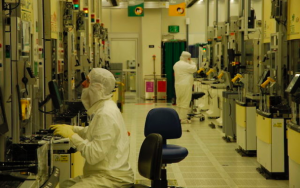 Usine de fabrication de microprocesseurs d'Intel a Kyriat Gat