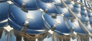 Dispositif photovoltaïque de concentration optique intégrant des miroirs paraboliques