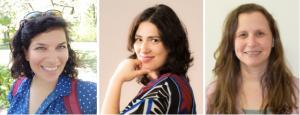 De g. à d. : Yael Paz, Dr Florina Uzefovsky, Dr Maayan Davidov