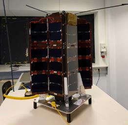 Le satelite qui permettra l'analyse des bacteries dans l'espace