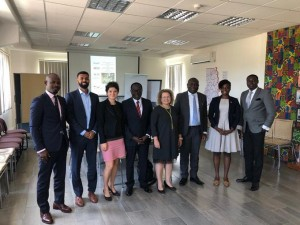 The Ambassador of Israel in Ghana hosted a round table meeting to discuss trilateral cooperation between MASHAV, Germany and the government of Ghana focusing on the promotion of a robust innovation ecosystem, november 2019