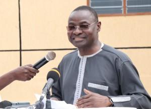 Moustafa Mijiyawa, ministre togolais de la santé