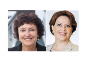 Karnit Flug, Gouverneure de la banque d'Israël et Nadine Baudot-Trajtenberg, vice-gouverneure