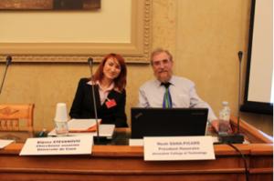 Biljana Stevanovic et Noah Dana Picard
