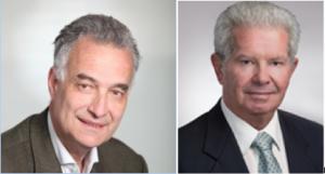Jacques Hardelay, Senior Vice President Hydro du secteur Energies Renouvelables d'Alstom et Benjamin Kahn CEO et Chairman of the Board