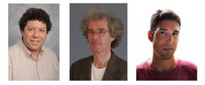From left to right: Pr Aviad Frydman          Pr Martin Dressel     Ph.D student Daniel Sherman