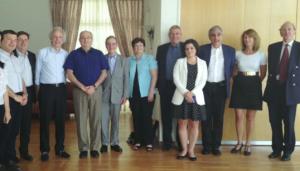 La délégation de la CPU au Technion
