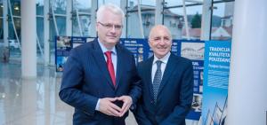 Croatian President Josipovic and Dr Michael Hayden