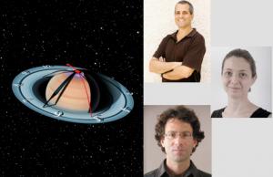 De haut en bas : Drs Yohai Kaspi (Weizmann), Ravit Helled (TAU), Eli Galanti (Weizmann) - (montage photos Israël Science Info)(Weizmann)