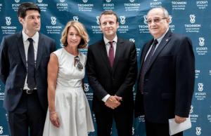 Patrick Maisonnave, Muriel Touaty, Emmanuel Macron, Peretz Lavie