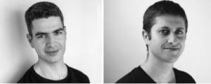 Left : Evi Meyer CEO (New York University) co-founder and Erik Sapir (Tel Aviv University) CTO & co-founder