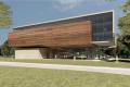 Projet architectural du musée de la biodiversité au Moyen-Orient, campus de l'université de Tel Aviv