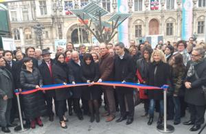 Inauguration de l'eTree par Anne Hidalgo (photo Bernard Bitan)