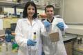 Rotem Shemesh (à g.) et Max Krepker, doctorants au Technion, Israël