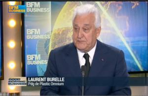 Laurent Burelle, PDG de Plastic Omnium
