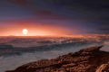 Artist's impression of the newly-discovered planet, Proxima Centauri b. credit: ESO/M. Kornmesser
