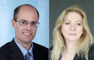 Avi Hasson, chief scientist IIA, et et Anya Eldan, GM, IIA