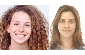 Rony Laor-Maayany et Rotem Amar-Halpert, étudiantes à l'École des sciences psychologiques et à l'École des neurosciences de l'Université de Tel-Aviv