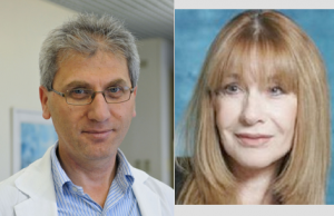 Dr Rifaat SAfadi (à g.) et Pnina Fishman
