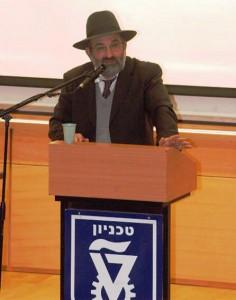 Rav Eliyahou Zini, ancien Rav du Technion et mathématicien. Le Rav Zini dirige la Yeshiva Or Vichoua, à Haïfa
