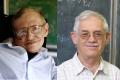 Stephen William Hawking (à g.) et Jacob David Bekenstein