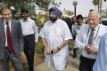 Le Premier ministre du Pendjab, Amarinder Singh, en visite à l'installation d'irrigation de NaanDan Jain en Israël : high tech dans l'agriculture de précision et l'horticulture le 22 octobre 2018