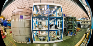 The Gran Sasso underground laboratory is home to the XENON1T experiment