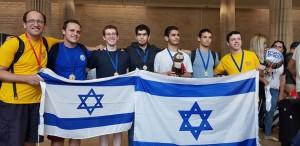 De d. à g. : Aviel Boag, Omri Peer, Lior Hadassi, Ohad Nir, Dor Metzer, Noam Ta Shma et Lev Radzivilovsky