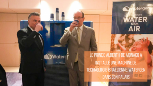 Mikhael Mirilashvili et le Prince Albert II de Monaco