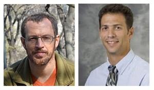 Left: Dr.Iddo Ben-Dov and right: Prof.Haggi Mazeh