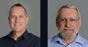 Zion Harel (left) and Dr Leonid Cooperman cofounders of IXDen